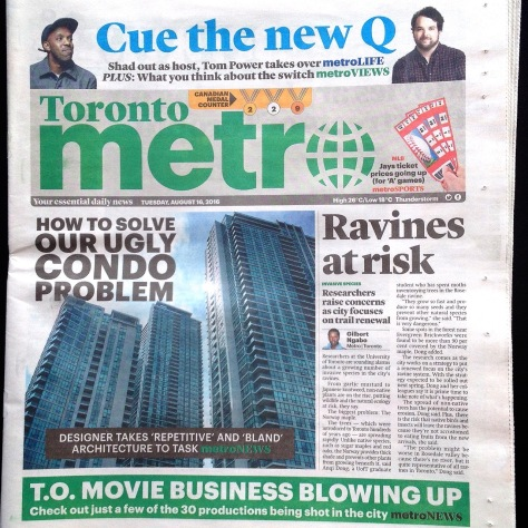 Metro News 20160816